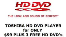Toshiba selling $99 HD DVD player, with a catch