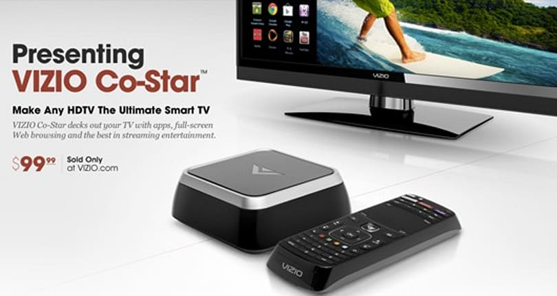 Vizio's 'Co-Star' makes your TV smarter, hooks it up with OnLive