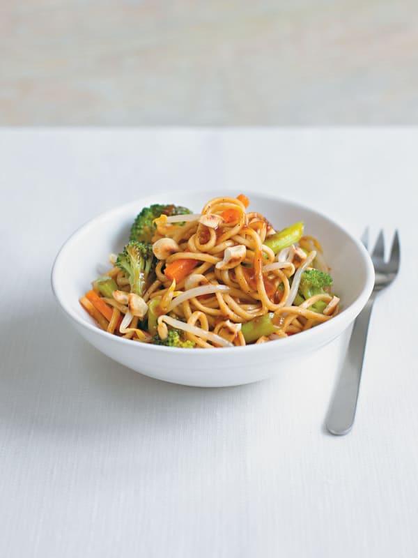 how to make vegetable stir fry noodles