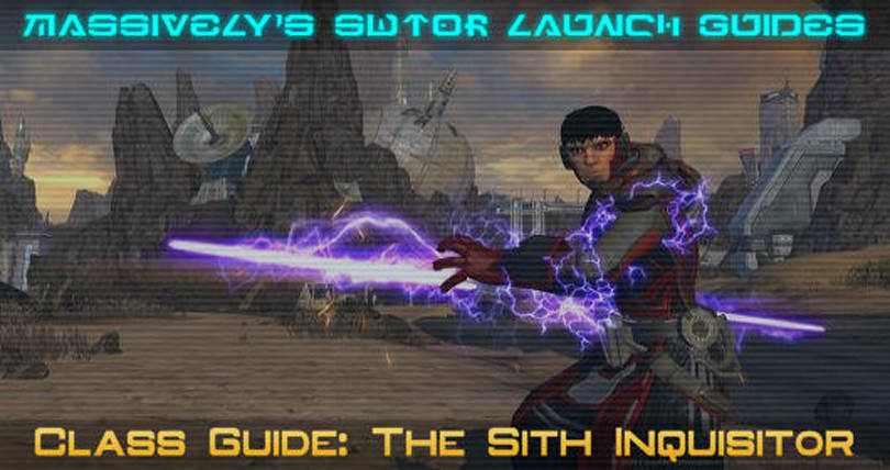 SWTOR: So you want to play a Sith Inquisitor