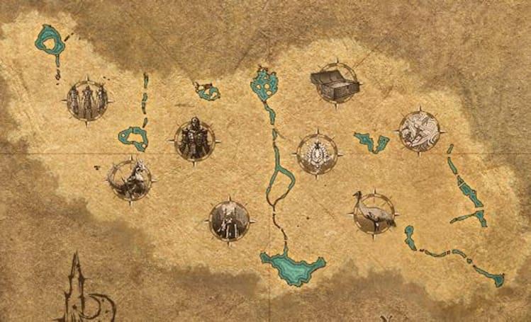 The Elder Scrolls Online's interactive map nabs a Craglorn update