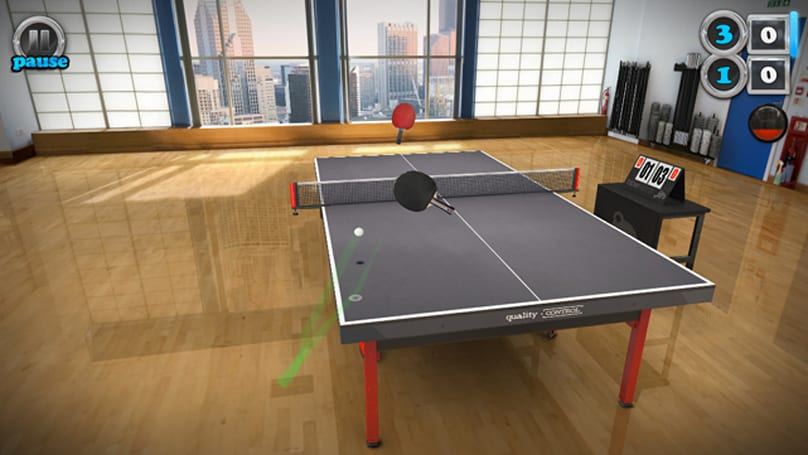 Table Tennis Touch should be twice as expensive as it is
