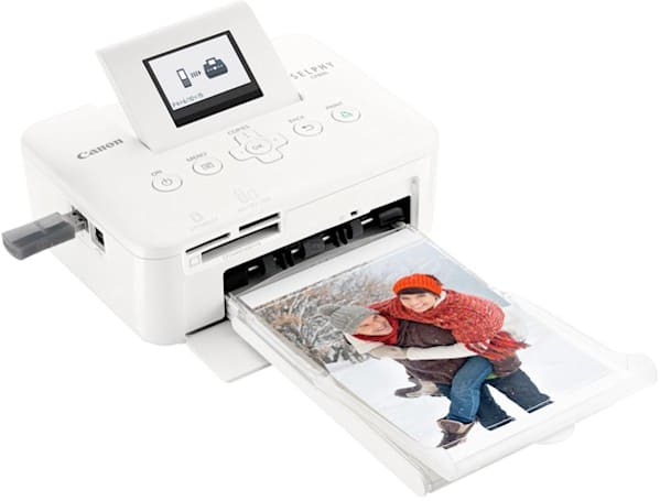 Canon SELPHY CP800 photo printer takes cue from Flickr with 'Shuffled' collage option