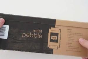 Pebble Smartwatch Unboxing