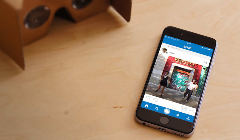 Shot wants to be the Instagram of virtual reality