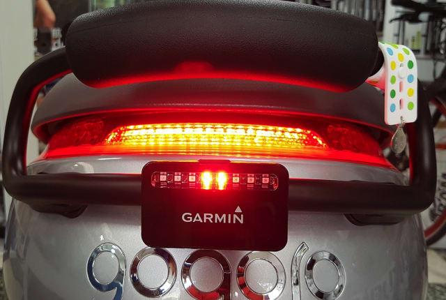 能偵測來車的智慧尾燈 Garmin Varia 動手玩