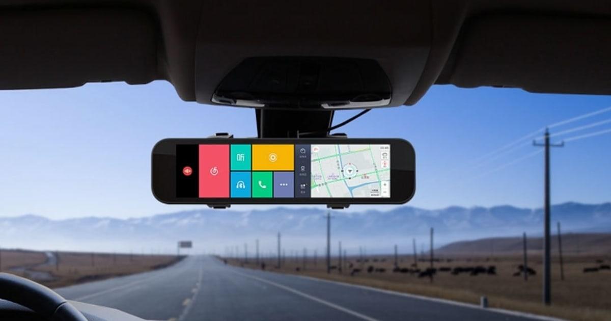 シャオミ、simが挿さる多機能液晶バックミラー Smart Rearview Mirrorを製品化。8 88インチ