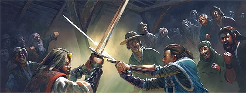 Neal Stephenson's sword-fighting game Clang officially shelved