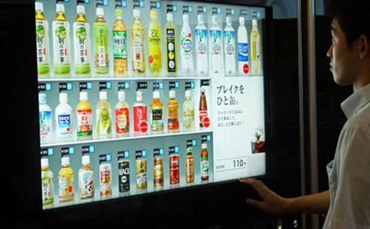 Japanese vending machines to get EV chargers, will quench both thirst and range anxiety