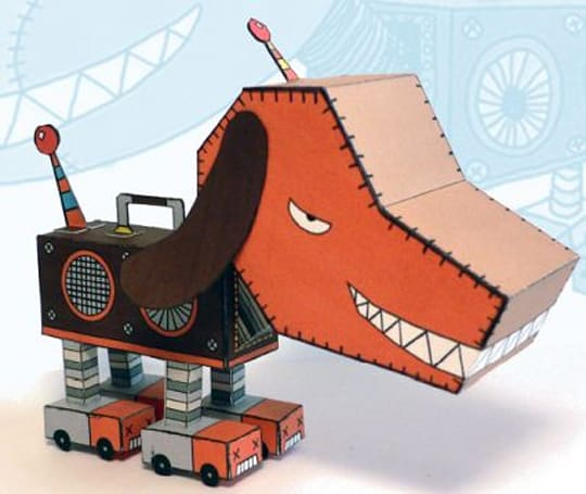 Build your very own Puma, from Gitaroo-Man