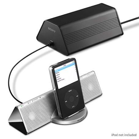 Sony announces CPF-IP001 iPod audio docking station