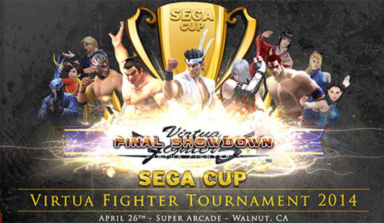 Registration for Sega Cup Virtua Fighter Tournament 2014 now open