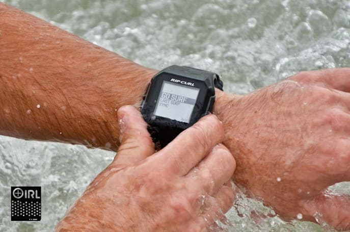 Catching waves with Rip Curl's SearchGPS surf watch