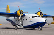 Albatross One: flying Row 44's amphibious in-flight WiFi test plane