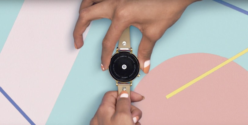 Google's Mode Android Wear bands snap on for easy changes