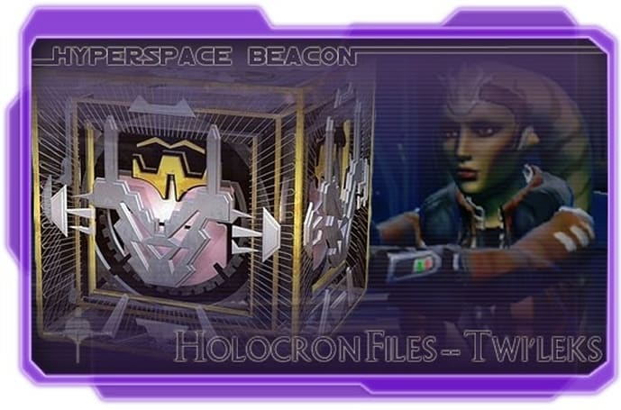 Hyperspace Beacon: Holocron Files - Twi'leks