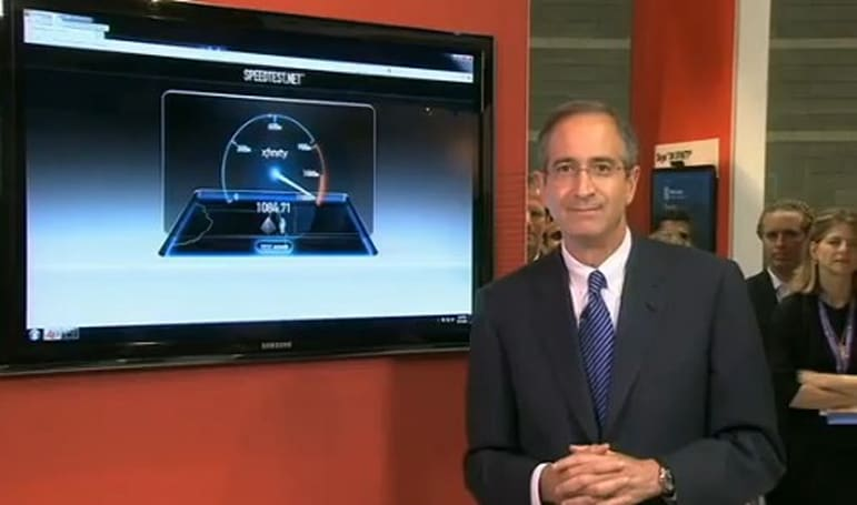 Comcast Cable Show 2011 demo features 1Gbps cable modem speeds, new Xfinity TV UI