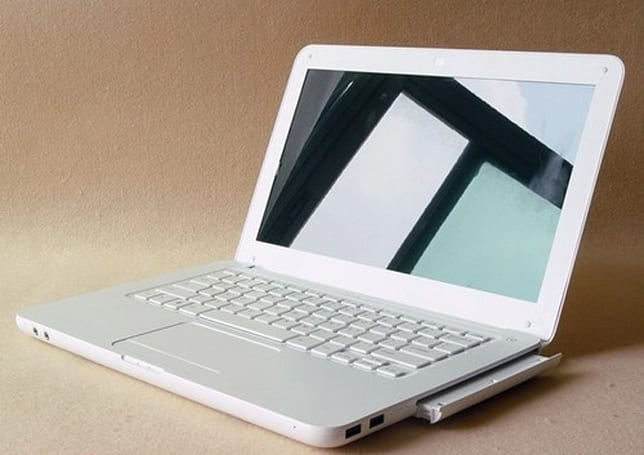 Keepin' it real fake: white MacBook with dual batteries, other things you never knew you needed