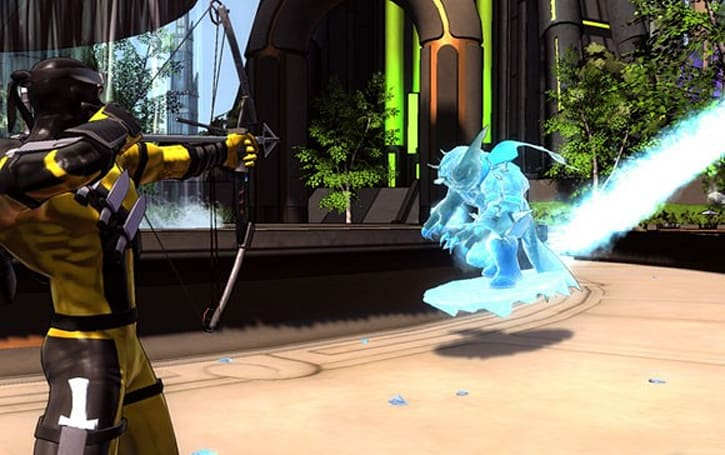 Ice Slide and Foxbat teased in Champions Online screenshots