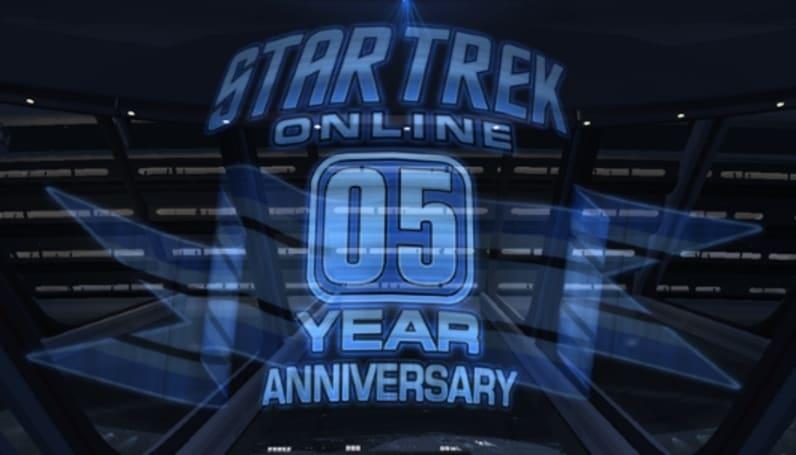 Star Trek Online starts its fifth anniversary celebration