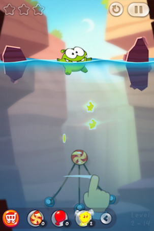 Cut the Rope 2 is a lovable adventure with an interesting take on in-app purchases