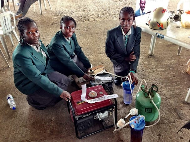Urine-powered generator produces six hours of electricity per bathroom break