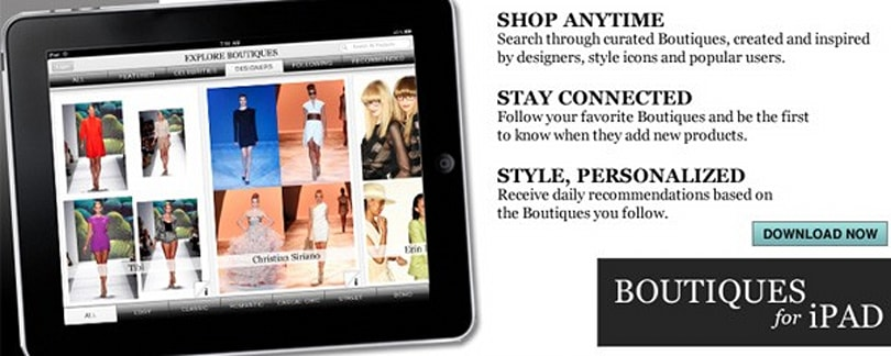 Google launches Boutiques fashion search, delivers obligatory iPad app