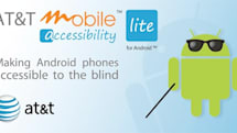 AT&T intros free Android accessibility solution for visually impaired (video)
