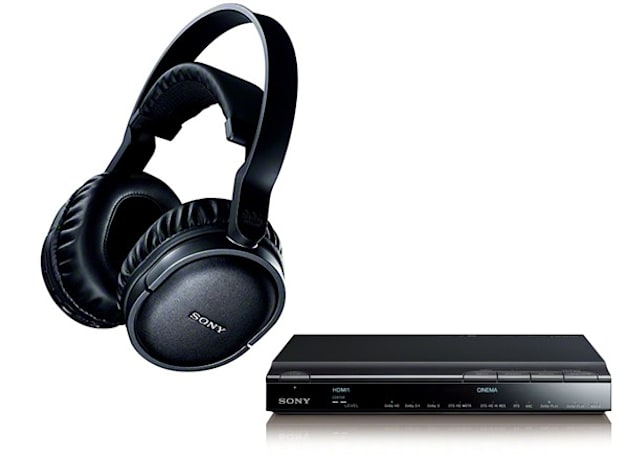 Sony MDR-DS7500 headphones promise 3D sound, will play nicely with your 3D glasses