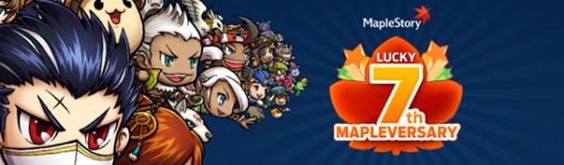 MapleStory celebrates its seventh anniversary with experience bonuses and cake monsters