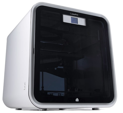 CubePro 3D printer does up to three colors, can create basketball-sized objects