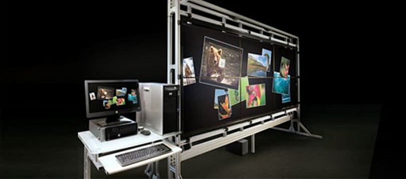 VantagePoint delivers 132 inches of multitouch to HP's business customers