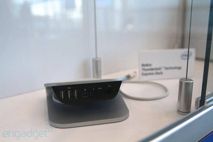 Belkin details Thunderbolt Express Dock at CES, shipping this Summer