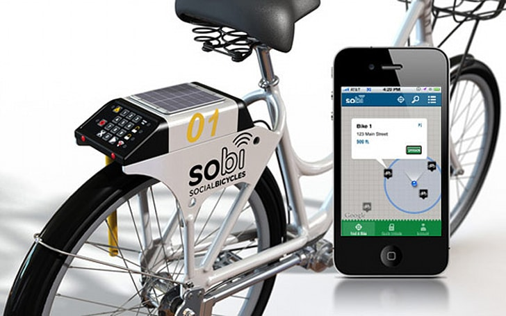 Insert Coin: Social Bicycles bike sharing system (video)