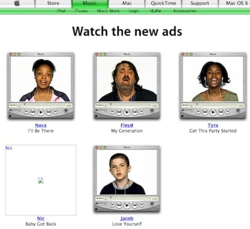 Can you believe these ads once ran on Apple's website?