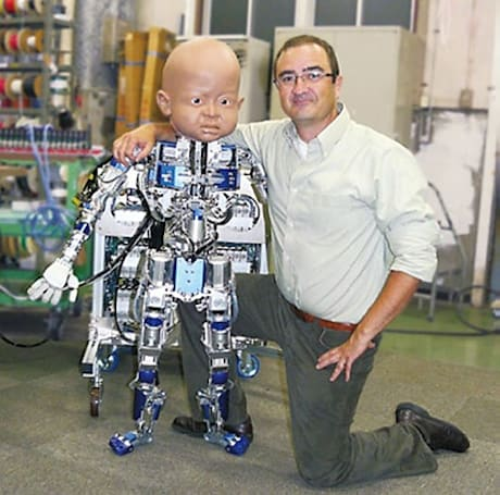 Meet Diego-san, the latest robot baby to haunt your nightmares