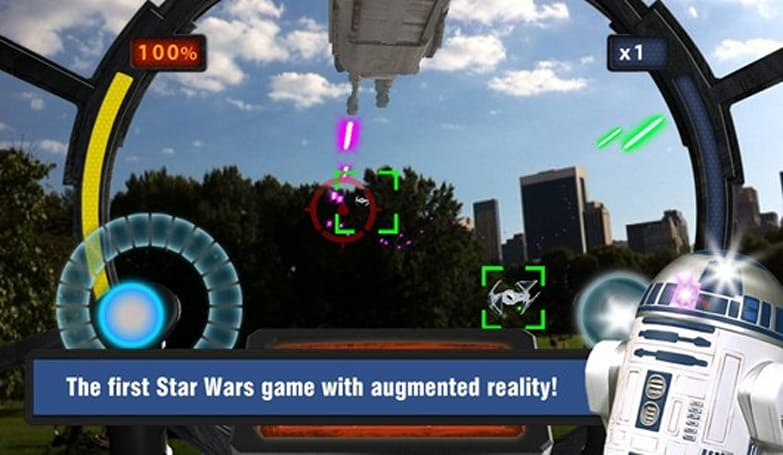 Star Wars: Falcon Gunner augmented reality shooter live on App Store