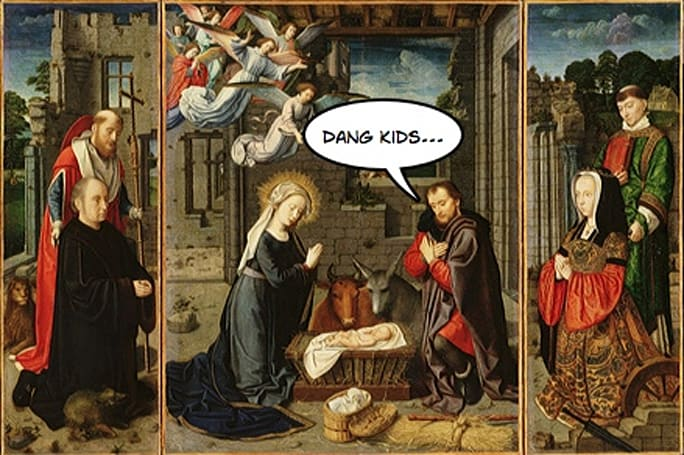 Baby Jesus and Co. get free GPS devices this holiday season