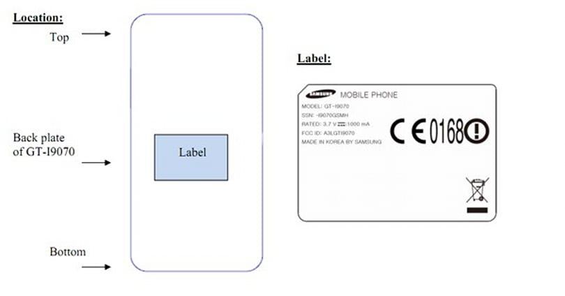 Potential Samsung Galaxy SII-sibling heads to China via the FCC