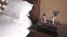 本格ドリップコーヒーの香りで起こす目覚まし時計 Barisieur、英デザイナーが開発中