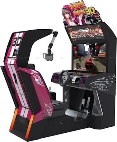 Konami's Road Fighters 3D hits Japan's arcades