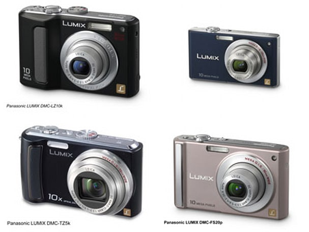 Panasonic gets official with PMA camera lineup