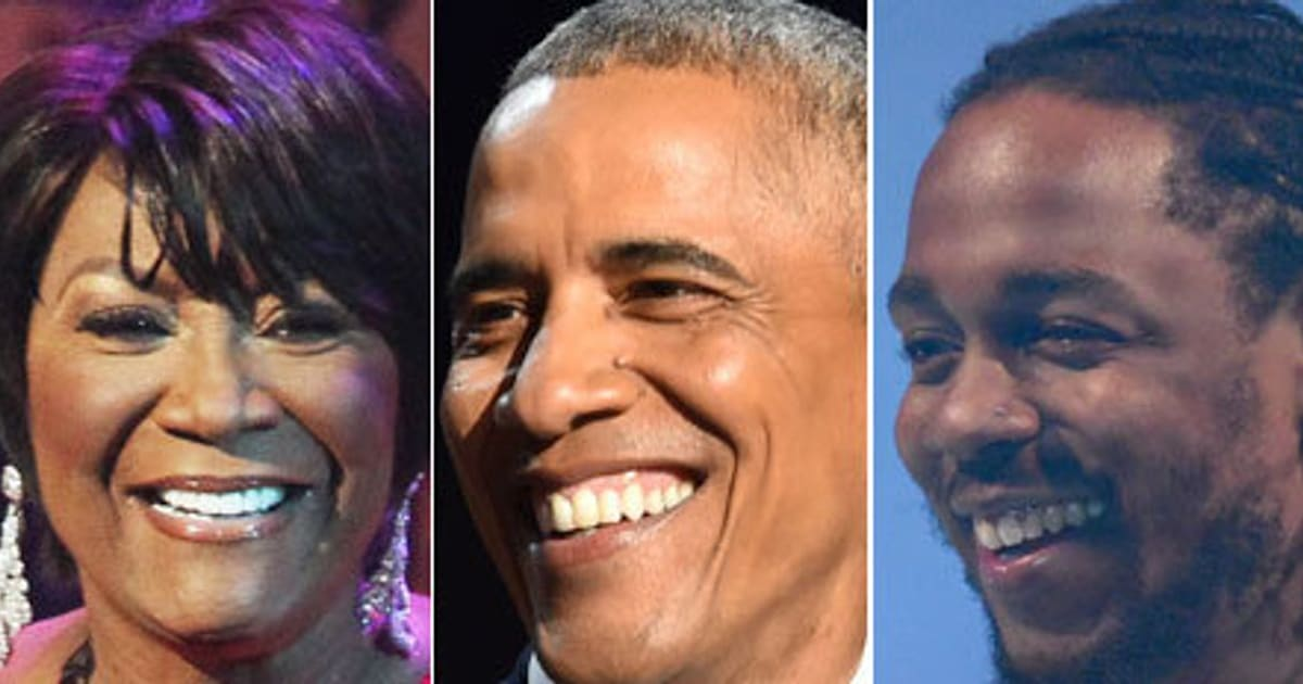 23 Black Artists Who've Turned Up For Obama At The White House