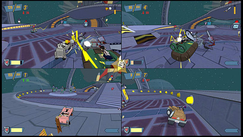 Car combat comes to PlayStation next week in Cel Damage HD