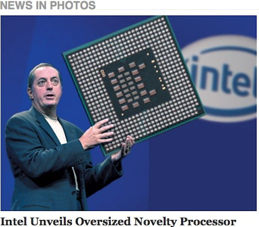 Huge new Intel processor revealed