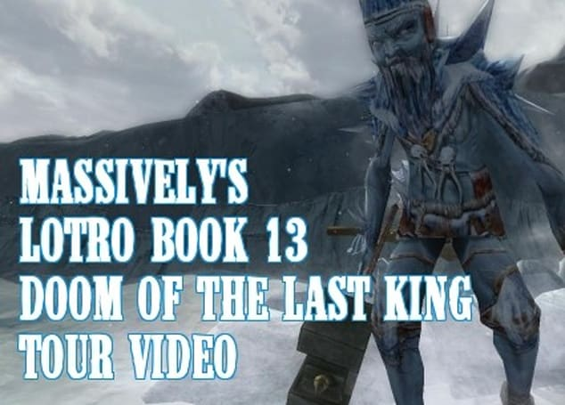 Massively goes hands-on with LotRO Book 13 video