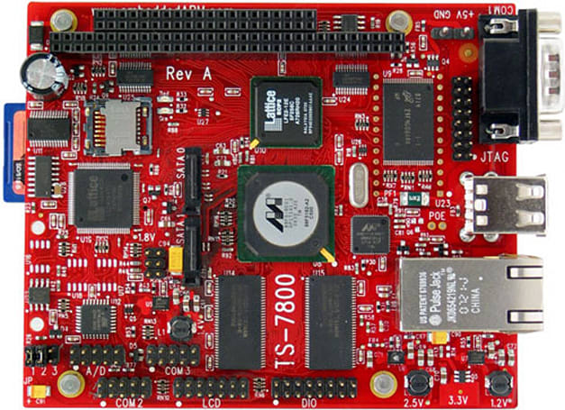 ARM9 board gets firmware upgrade for 0.69-second Debian boot-ups