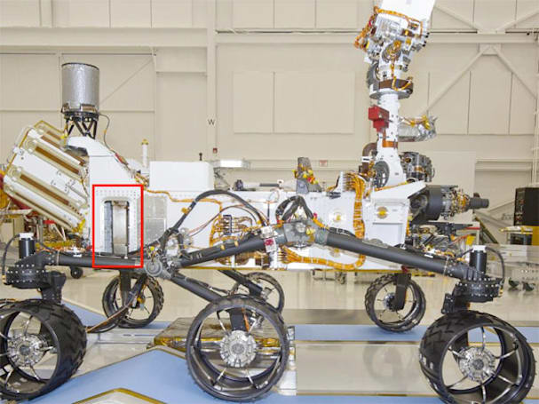 NASA's Mars rover Curiosity gains DAN apparatus, new lust for water