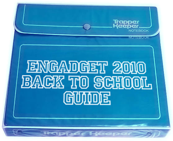Engadget's back to school guide: Fun stuff!