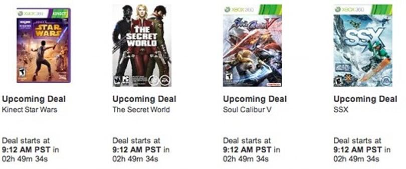 Amazon Cyber Monday deals include Vita, Halo 4, the word 'Cyber' [update: PC download deals]